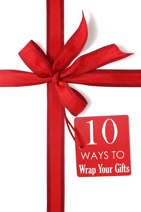 10 ways to wrap your gifts
