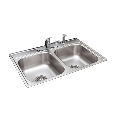 4 kitchen sink faucet franke drop in stainless steel 33x22x7 4 bowl kitchen sink with faucet fds704nkit