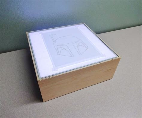 boxes to make how to make an led light box 11