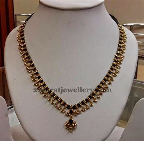 black necklace designs india muvvala haram with black indian jewelry india