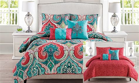 comforter sets deals casablanca comforter set groupon goods