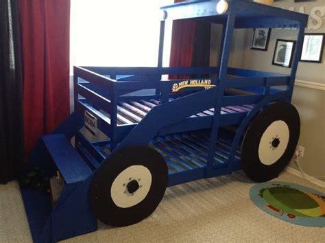 tractor bunk bed plans diy tractor bunk bed for boys