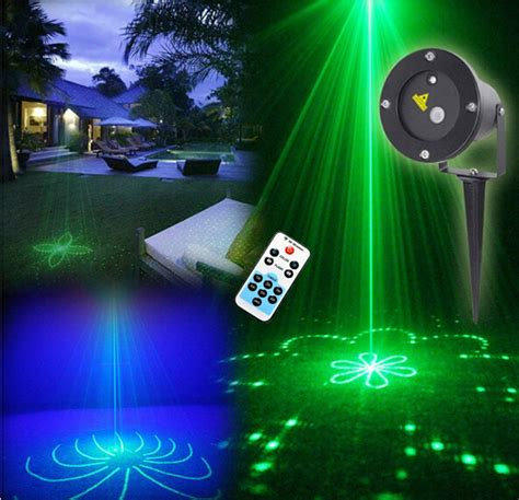 outdoor laser light projector aliexpress buy remote green 20 patterns led blue