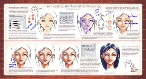 paint tool sai realism tutorial semi realistic skin tutorial by chiakineko on deviantart