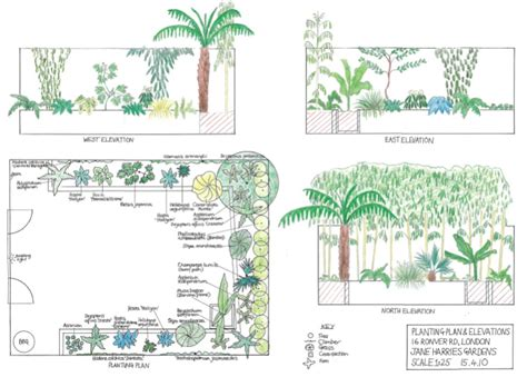 Cottage Home Plans example planting plans