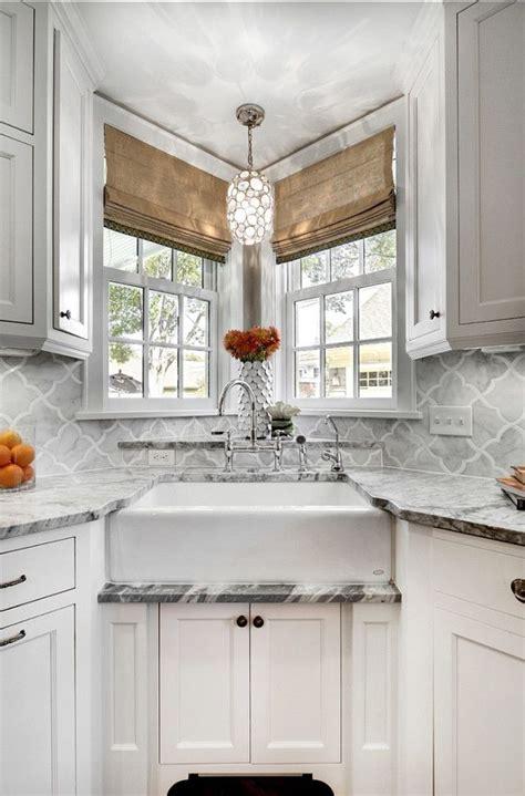 kitchen sink in corner 25 best ideas about corner kitchen sinks on