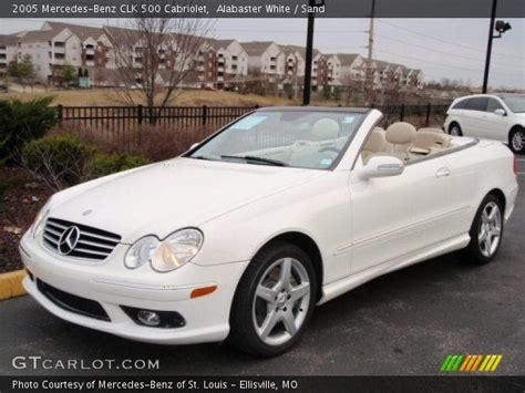 2005 Mercedes Clk500 by Alabaster White 2005 Mercedes Clk 500 Cabriolet