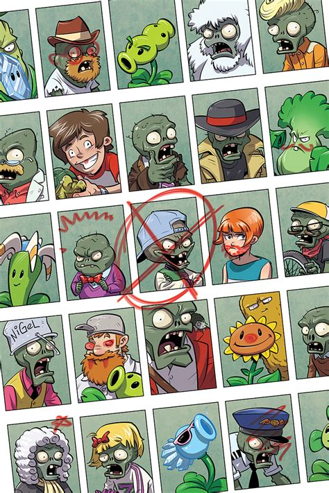 comics vs plants vs zombies monthly comic series coming plants vs
