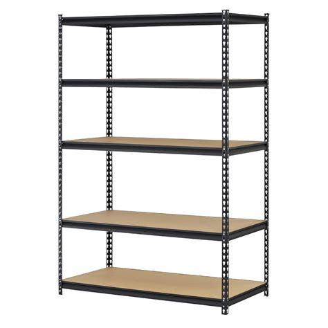 metal utility shelves commercial industrial steel 5 tier shelving work bench