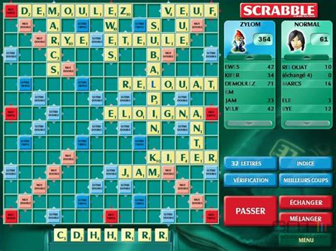 scrabble francais en ligne scrabble deluxe screen 2