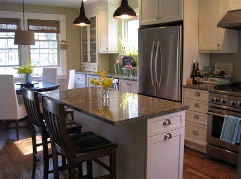 design a small kitchen how to design a small kitchen with seating and dining room