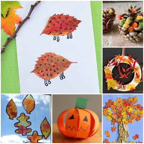 fall crafts for easy 40 fall crafts and activities the kindergarten connection