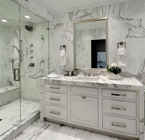 carrara marble bathroom vanity bianco carrara marble mosaic tile contemporary