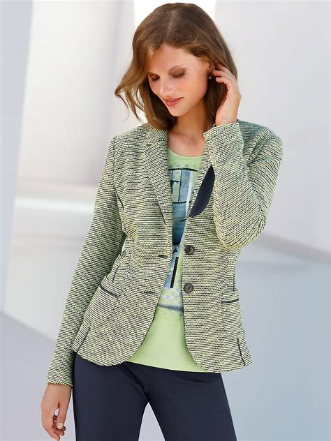 knitted jacket gerry weber knitted jacket light green multi coloured