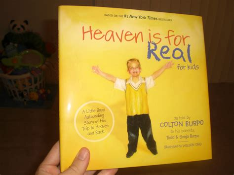 heaven is for real picture book new book heaven is for real for family friendly