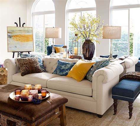Living Room Ideas With Chesterfield Sofa by How To Archives Pottery Barn