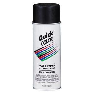 home depot spray paint theft color 10 oz flat black general purpose aerosol