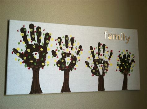 family craft for diy family tree craft craft projects