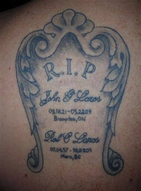 tombstone tattoos designs ideas and meaning tattoos for you