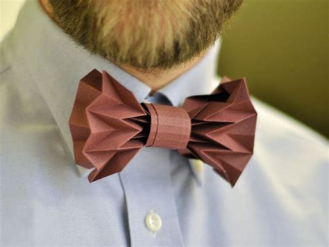 how to make an origami bow tie origami paper bowtie
