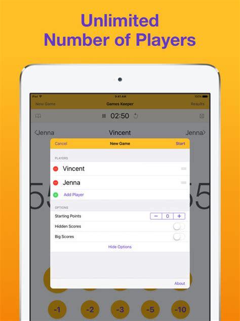 scrabble score app keeper board score tracker screenshot