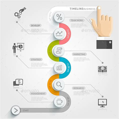 origami history timeline business timeline infographics a business graphics and