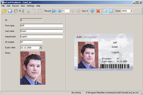i card software id card software