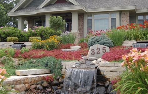 front yard gardens ideas 25 rock garden designs landscaping ideas for front yard