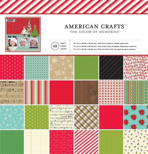american paper crafts american crafts 12 x 12 paper pad