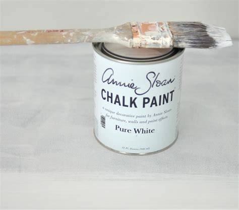 chalk paint in lowes white chalk paint