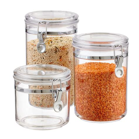 Glass Kitchen Canister Sets canisters canister sets kitchen canisters amp glass