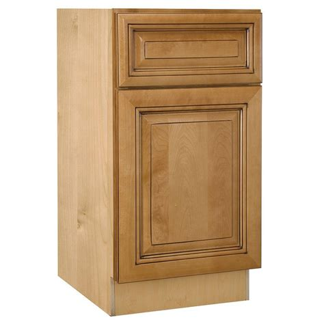 unfinished wood cabinet doors home depot assembled 18x34 5x24 in base kitchen cabinet with 3