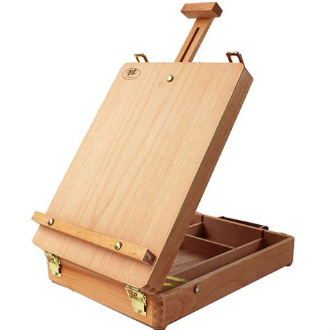 desk easel for portable beech drawing painting supply desktop table