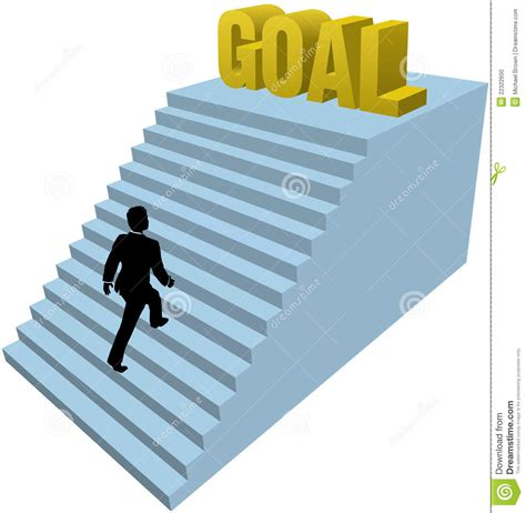 steps in business person climbs steps achieve goal stock vector