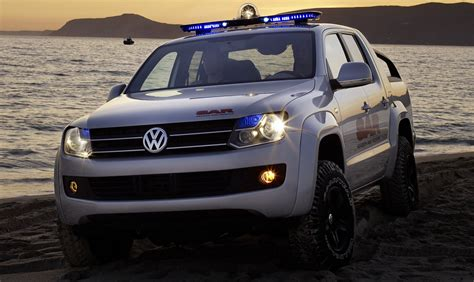 New Volkswagen Truck by Vw S New Amarok Powerful And Robust