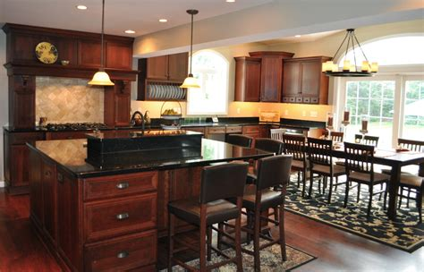 cherry kitchen cabinets with granite countertops granite kitchen countertops cherry cabinets home decor