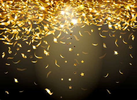 and gold lights golden confetti sparkle glow glitter background gold