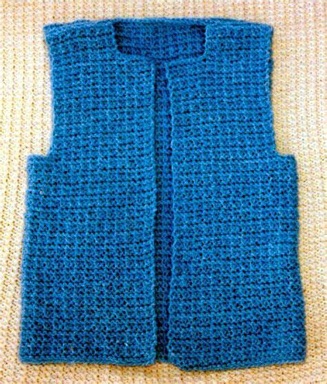 knit patterns for vests in one knit vest by frugal knitting haus craftsy