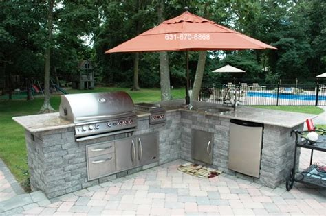 outdoor kitchen island kits extraordinary outdoor bbq kitchen kits and bbq island kit photo gallery 14765 home interior