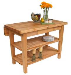 Kitchen Islands With Drop Leaf butcher block kitchen island john boos islands
