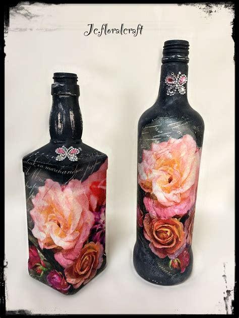 decoupage bottles 1000 images about ideje za teglice flaše i konzerve on