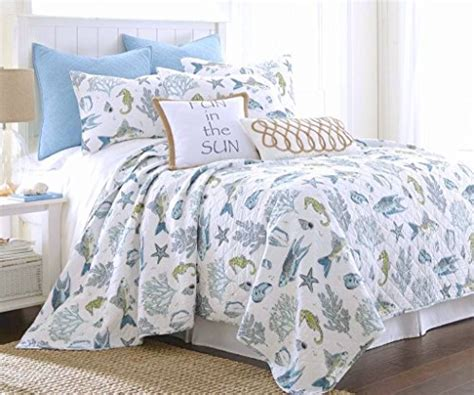fish bedding starfish bedding and quilt sets beachfront decor