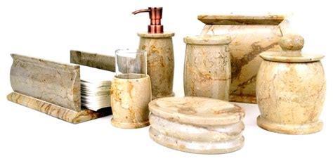 beige bathroom accessories set nature home decor beige marble 7 bathroom