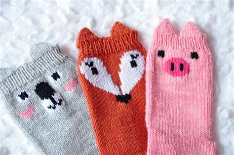 knitted animal socks pawsome pals animal socks knitting patterns and crochet