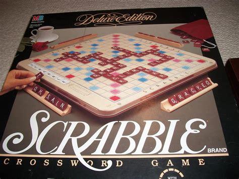 deluxe edition scrabble scrabble deluxe edition turntable board oak bay