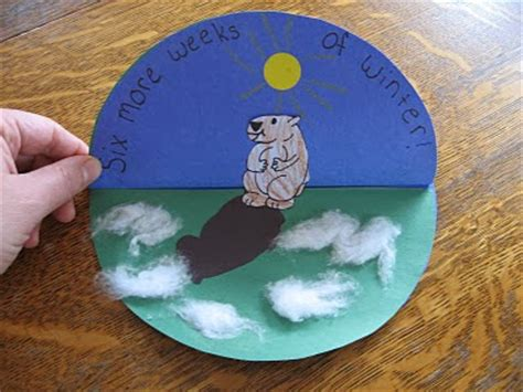 Groundhog Day Crafts For Crafty Morning