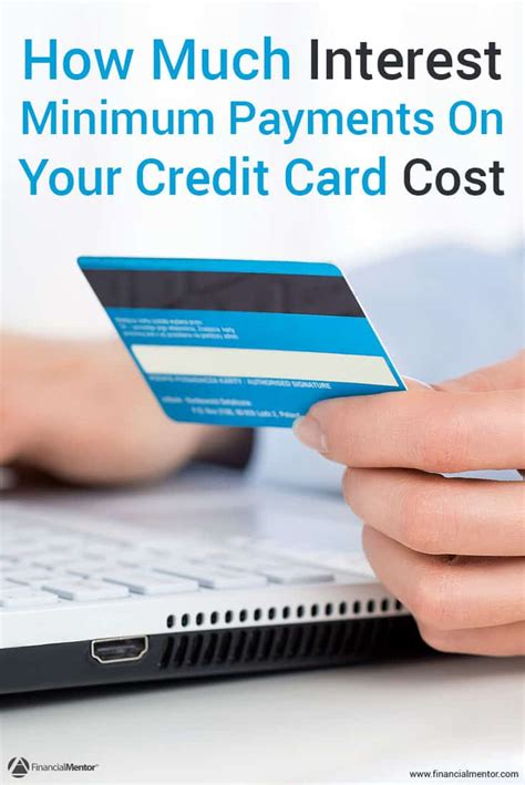 make discover card payment the minimum payments on your credit card can cost