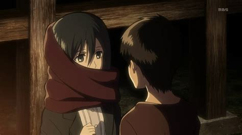 attack on titan eren and mikasa eren x mikasa attack on titan photo 35842437 fanpop