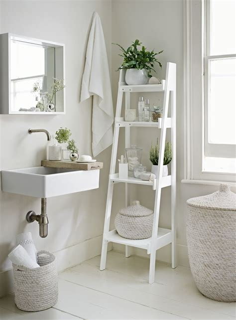 all white bathroom ideas small bathroom create space with these 7 storage ideas