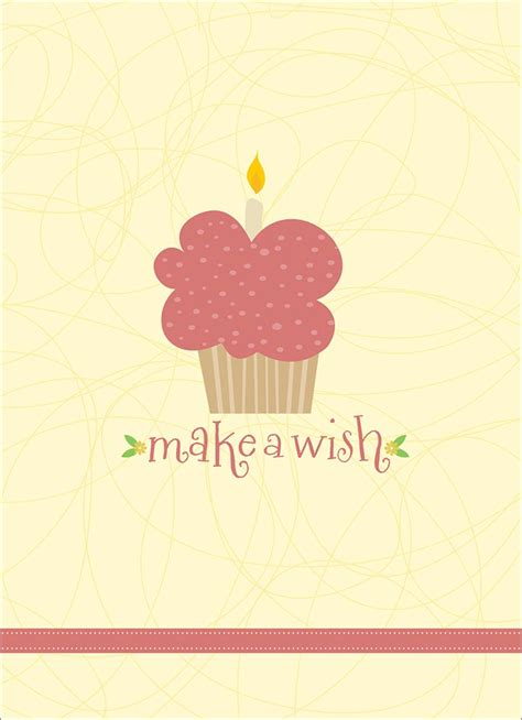 make a wish cards make a wish cupcake birthday cards from cardsdirect
